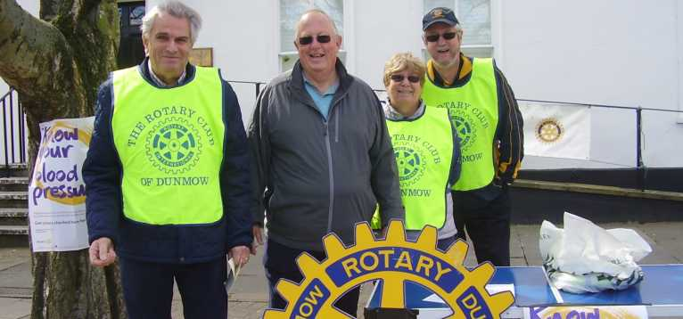 Rotary club running a KYBP event