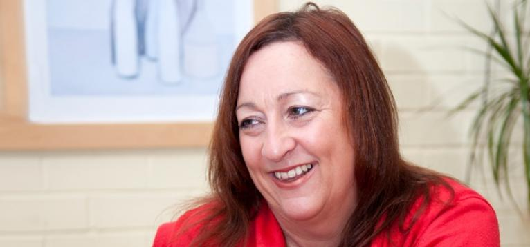 Stroke survivor Susan Butcher supports Stroke Association campaign in Wales