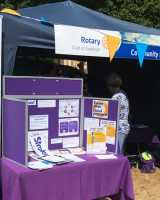 Photo of a stand by Chandlers Ford Stroke Support Group