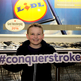 Ollie Archer, stroke survivor