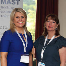 A presenter and attendee at the NI stroke conference 2016
