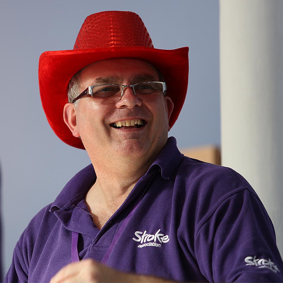 A man wearing a cowboy hat.