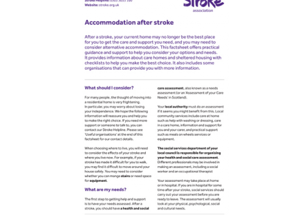 Guidelines and Information | Stroke Association