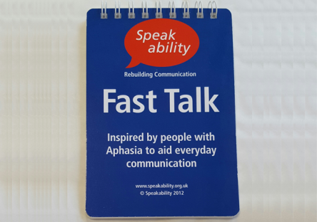 Picture of Fast Talk booklet