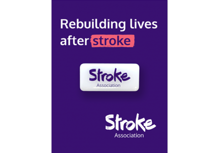 Stroke Association supporter pin badge