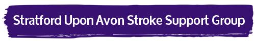 Stratford- Upon- Avon Stroke Support Group logo