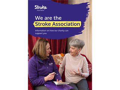 We are the Stroke Association 2019 cover